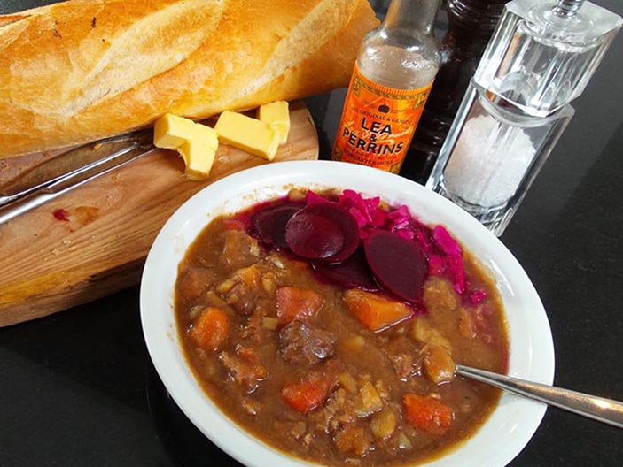 a bowl of scouse
